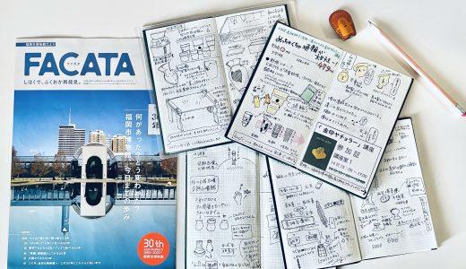 福岡市博物館とFACATAと野帳